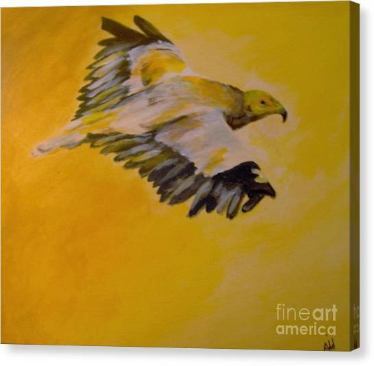 Canvas Print featuring the painting Entrepreneur by Saundra Johnson