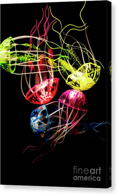Tanks Canvas Print - Entwined In Interconnectivity by Jorgo Photography - Wall Art Gallery
