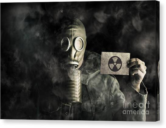 Biohazard Canvas Print - Nuclear Threat by Jorgo Photography - Wall Art Gallery