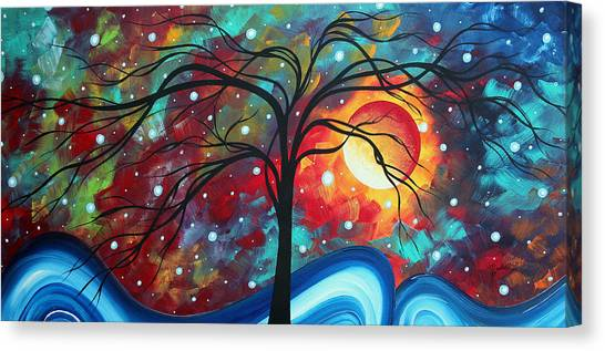 Canvas Print - Envision The Beauty By Madart by Megan Duncanson