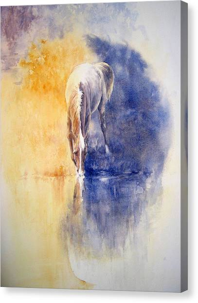 Equanimity Canvas Print by Barbara Widmann