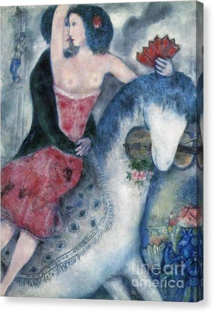 Equestrienne 1931 Canvas Print