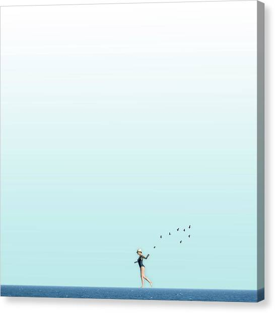 Minimal Canvas Print - Equilibrio  by Caterina Theoharidou