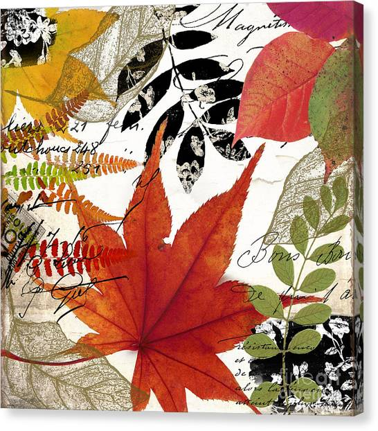 Autumn Canvas Print - Equinox I by Mindy Sommers