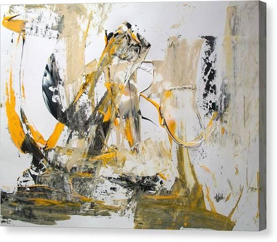 Erasure Canvas Print