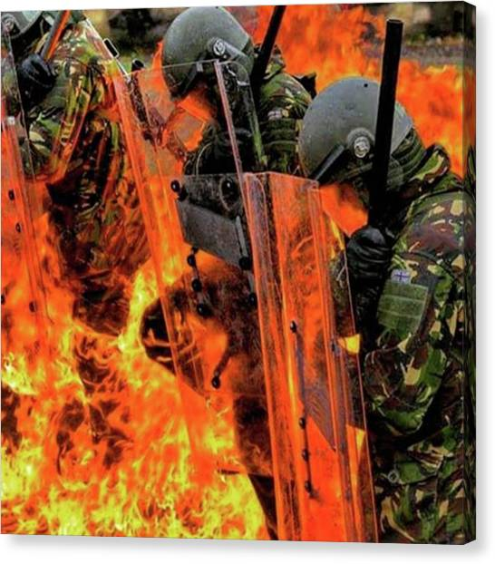 Soldiers Canvas Print - #erdogan #turkey #turkish #golpe by The Ivy Mike