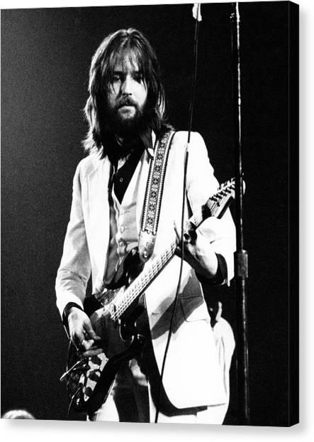 Eric Clapton Canvas Print - Eric Clapton 1973 by Chris Walter