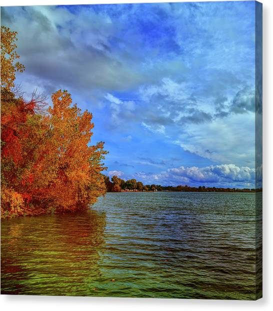 Rainclouds Canvas Print - Erie Splendor 2 by John M Bailey