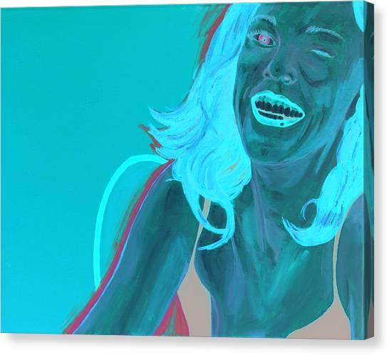 Erin Winking Canvas Print
