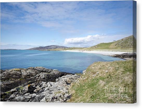 Scotland Canvas Print - Eriskay Bay by Smart Aviation