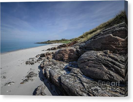 Scotland Canvas Print - Eriskay Beach by Smart Aviation