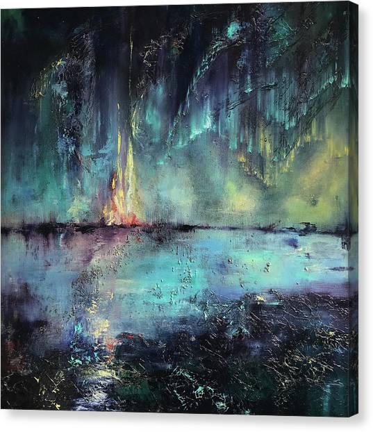 Erluption Canvas Print