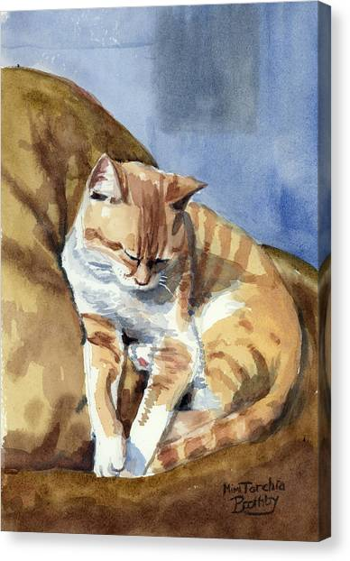 Ernesto Canvas Print