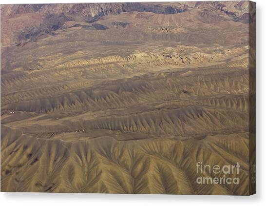 Eroded Hills Canvas Print by Tim Grams