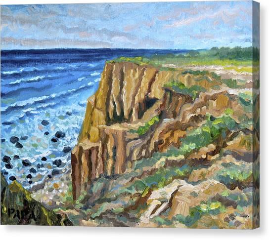 Eroding Dunes 2009 Canvas Print by Ralph Papa