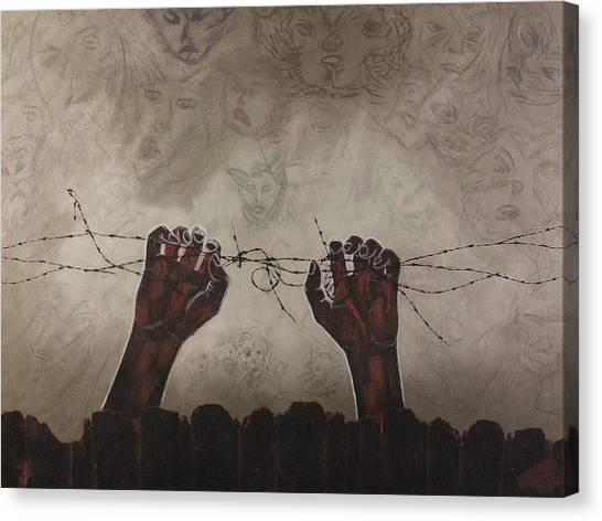 Escape Da Obscuridade Canvas Print by Arnuda