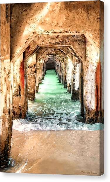 Escape To Atlantis Canvas Print