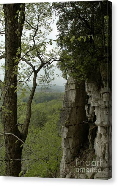 Escarpment Tunnel Canvas Print