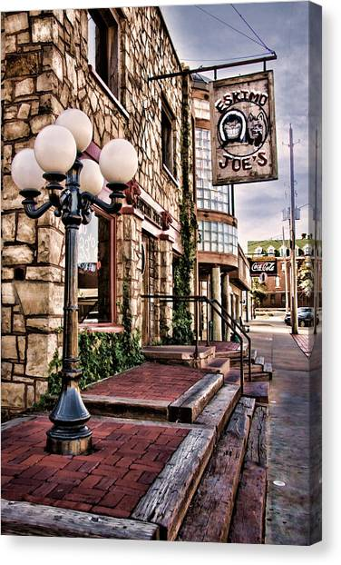 Oklahoma State University Canvas Print - Eskimo Joe's  by Lana Trussell
