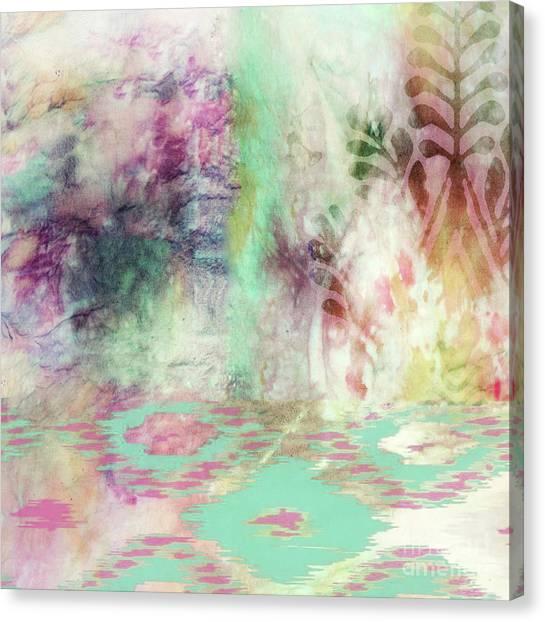 Tie-dye Canvas Print - Esme II by Mindy Sommers