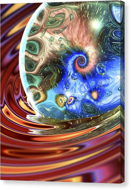 Esscence Of Life Canvas Print by Sandy Ostroff