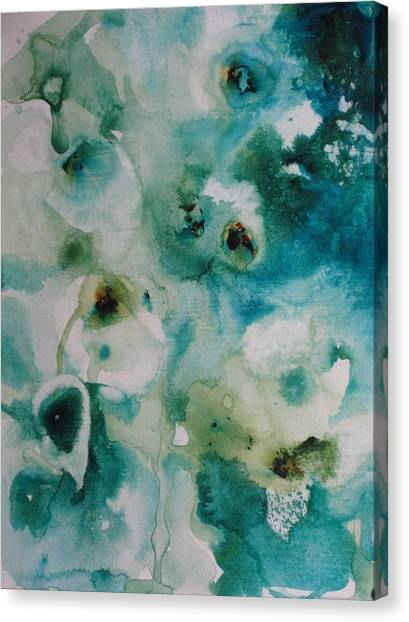 Essence Of Flower Canvas Print by Elizabeth Carr