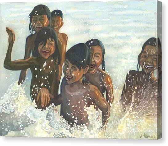 Essence Of Joy Canvas Print