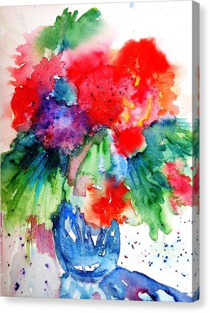 Essence Of Summer Canvas Print