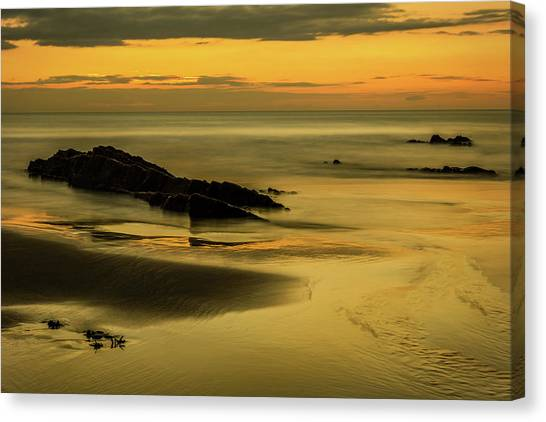 Canvas Print featuring the photograph Essentially Tranquil by Nick Bywater