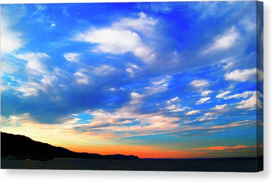 Estuary Skyscape Canvas Print