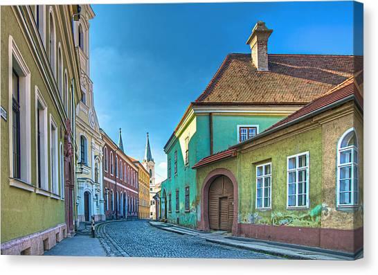 Esztergom Pastels Canvas Print