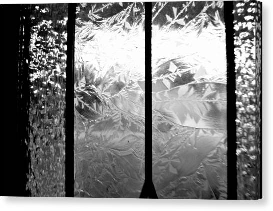 Etched In Glass Canvas Print by Laura DAddona