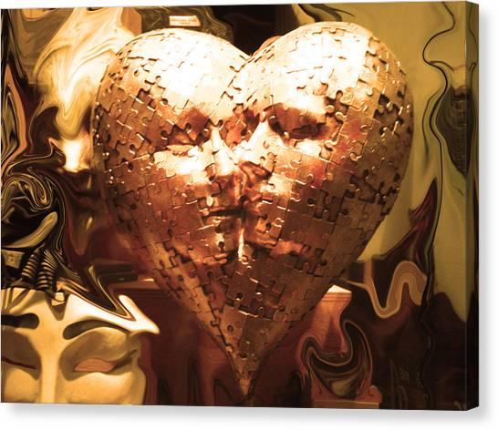 Eternal Kisses Canvas Print by Edan Chapman