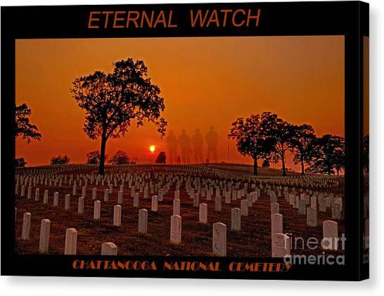 Eternal Watch Canvas Print