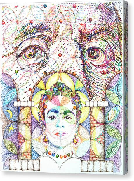 Eternidad- Sombra De Arreguin Canvas Print