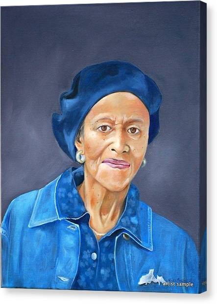 Ethel Pearl Canvas Print