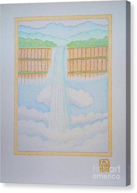Ethiopian Waterfall Canvas Print