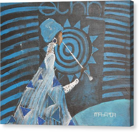 Ethno Session  Canvas Print