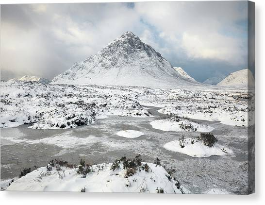 Etive Mor Winter Canvas Print