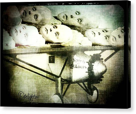 Canvas Print featuring the digital art Eugenics 101 by Delight Worthyn
