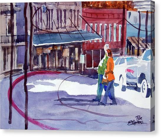 Eureka Springs Ak 3 Canvas Print