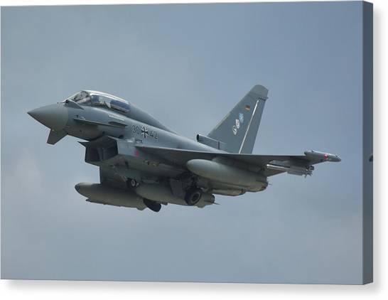 Eurofighter Ef2000 Canvas Print