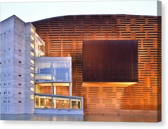 Euskalduna Center Bilbao Spain Canvas Print