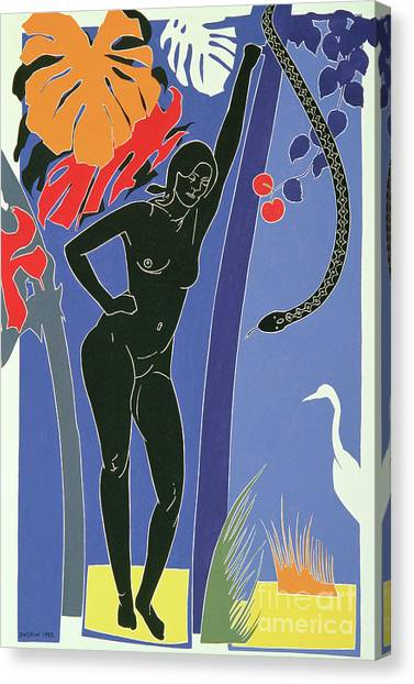 Storks Canvas Print - Eve by Derek Crow
