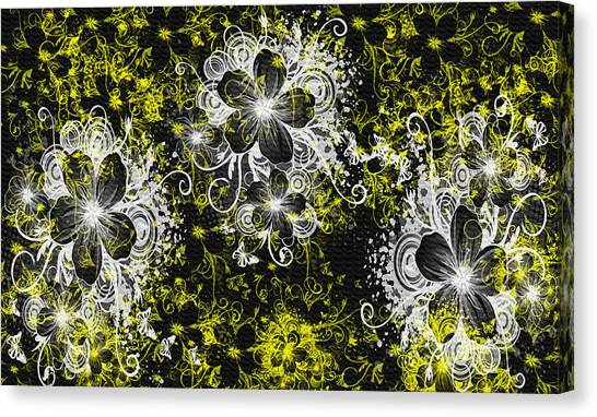 Eve Series 3 Canvas Print by Evelyn Patrick