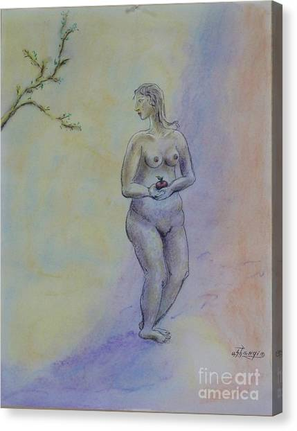 Eve Canvas Print by Ushangi Kumelashvili