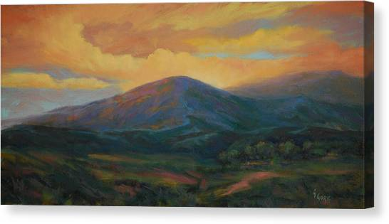 Evening Ablaze Canvas Print by Gary Gore