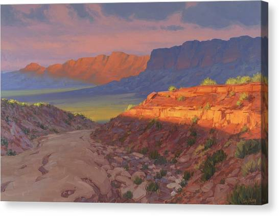 Grand Canyon Canvas Print - Evening Advances by Cody DeLong