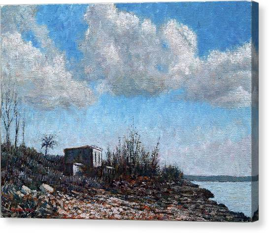 Eleuthera Art Canvas Print - Evening At Current Ridge by Ritchie Eyma
