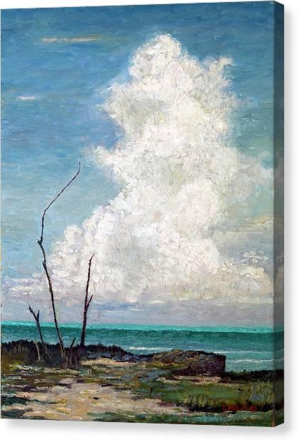Evening Cloud Canvas Print